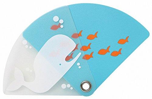 Dreams うちわ POCKET SIZE UCHIWA スライドタイプ Whale VRT42453