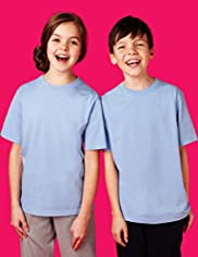 2 Pack Unisex Outstanding Value Crew Neck T-Shirts with Stay New™