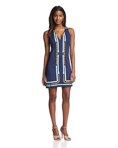 JB Julie Brown Women's Isla Sleeveless Shift Dress with Embellishment
