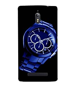 printtech Watch Chronogragh Back Case Cover for Oppo Find 7 :: Oppo Find 7 QHD