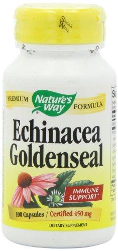 Nature's Way Echinacea and Goldenseal, 100 Capsules