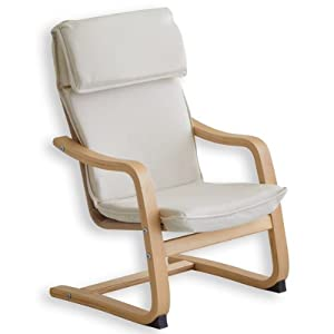 Fauteuil enfant design beige cuisine maison - Amazon fauteuil enfant ...