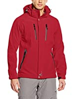 Peak Mountain Chaqueta Soft Shell Cilo (Rojo)