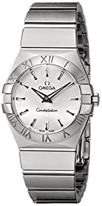 Omega Women's 123.10.27.60.02.001 Constellation Silver Dial Watch by Omega