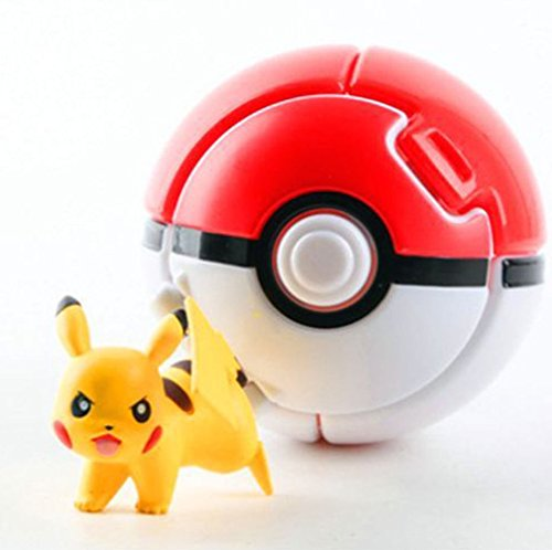 Pokmon-Throw-Pok-Ball-with-Pikachu-Mini-Toy-Anime-Action-Figure-and-Bonus-HiperSpeed-Pokmon-Go-Guide