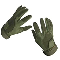 Buy Rap4 Paintball SOF Tactical Gloves Full Finger - Olive Drab - Large by Rap4