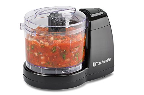 Tostmaster 1 1/2 Cup Mini Electric Food Chopper Black
