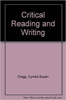 Critical thinking writing and reading book