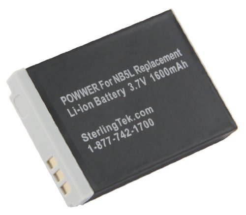 STKs Canon NB 5L NB5L Battery
