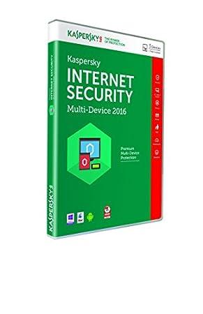 Kaspersky Internet Security 2016 Multi-Device - 3 Device, 1 Year DVD Box (PC)