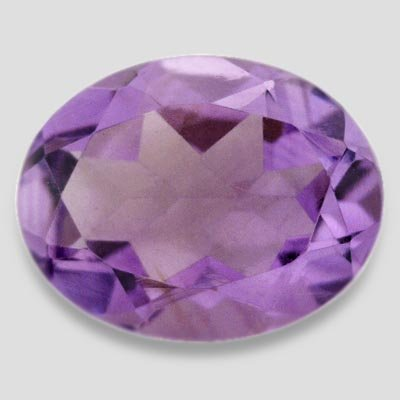 1.65 ctw Top SI Clarity Purple Amethyst Color Oval Shape Loose Gemstone 9 X 7 mm