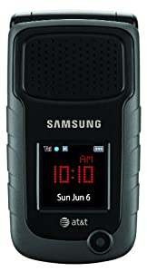 Samsung Rugby II Phone, Black (AT&T)