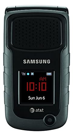 Samsung Rugby II, Black (AT&T)