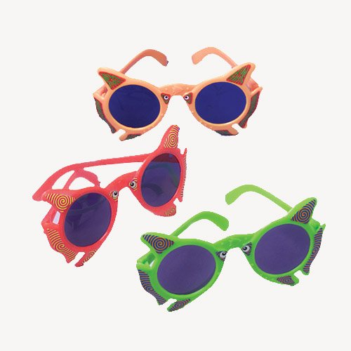 Fish Sunglasses (1 Dozen) - Bulk
