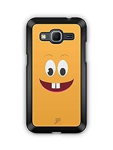 YuBingo Surprised Smiley Mobile Case Back Cover for Samsung Galaxy Core Prime