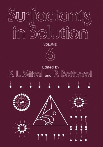 Surfactants In Solution: Volume 6