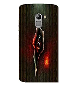 PrintDhaba Scary Image D-4006 Back Case Cover for LENOVO K4 NOTE A7010 (Multi-Coloured)