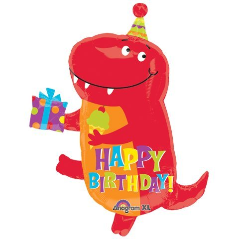 "18"" Birthday-saurus Junior Shape - 1"