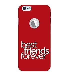EPICCASE friends forever Mobile Back Case Cover For Apple iPhone 6, 6S Logo Cut (Designer Case)