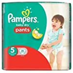 Pampers Baby-Dry 21 Couches-Culottes...