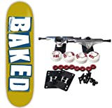 BAKER Skateboards BAKED GOLD Complete SKATEBOARD 8.19