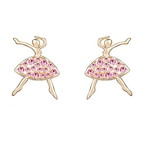 [ER990076C1 Fashionable Alloy Doll H-ID-Diamonds Women Earring] (Bat Wings Costume Template)