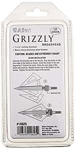Allen Company Grizzly Three Blade Broadheads, 125 Grain