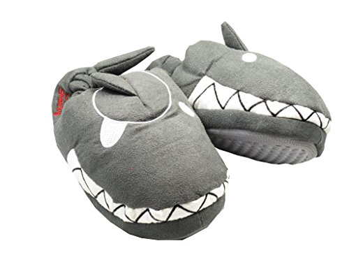 Pantofole Squalo, colore: grigio, misura: 27/28 Capt' n Sharky