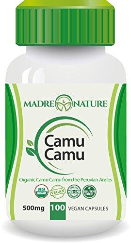 Organic-Camu-Camu-Berry-Supplement-500mg-x-100-Vegan-Capsules-Natural-Vitamin-C-Fresh-Harvest-from-Peru