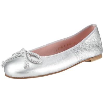 pretty ballerinas 35663 damen ballerinas silber ami plata silber leder eu 35 5 amazon. Black Bedroom Furniture Sets. Home Design Ideas