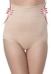 Golden Girl Beige Solid Shapewear