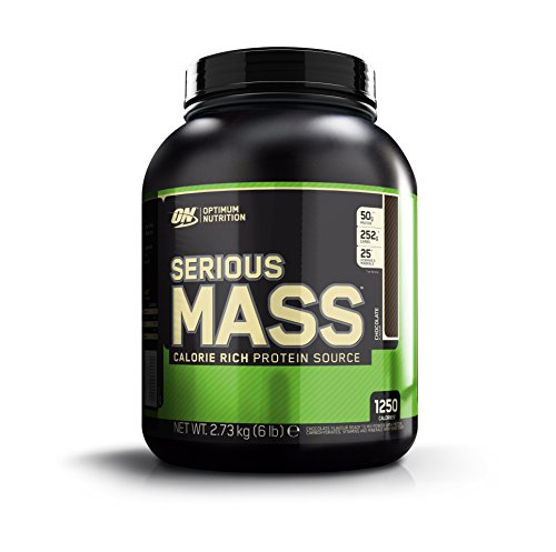 Optimum Nutrition Serious Mass Suplemento para Deportistas, Sabor de Chocolate - 2727 gr 25.00€