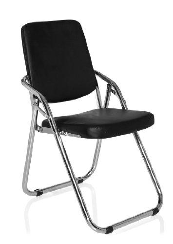 hjh office 706300 konferenzstuhl esto v pu schwarz. Black Bedroom Furniture Sets. Home Design Ideas