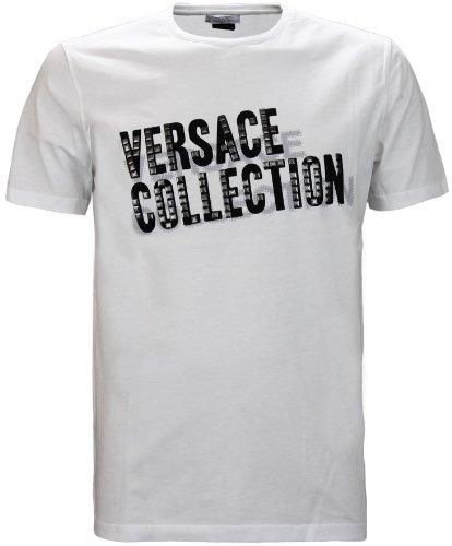 Versace Collection Men's Logo T-Shirt White (XL)