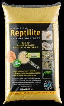 Carib Sea Scs20731 2-Pack Reptiles Calcium Substrate Sand, 20-Pound, Sunshine Yellow