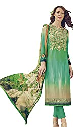 Lebaas Designer Lawn Cotton A-Line Salwar Kameez (Unstitched Dress Material) - (With Discount and Sale Offer)
