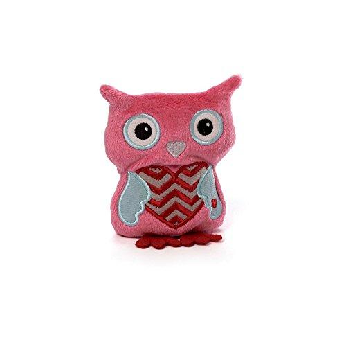 Gund Tweetheart Owl Beanbag Pink