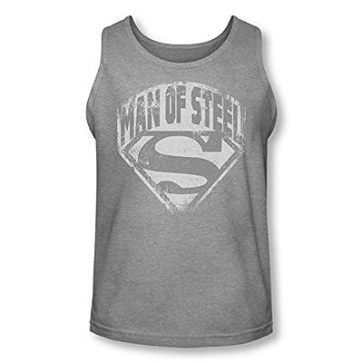Superman Man Of Steel Shield Tank Top