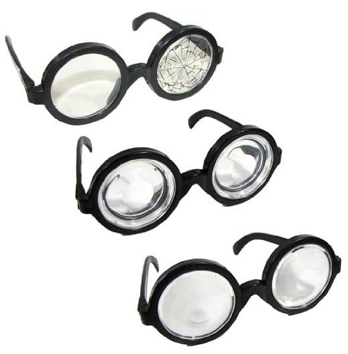 Geek Spectacles Assorted 3-Pack Novelty Glasses