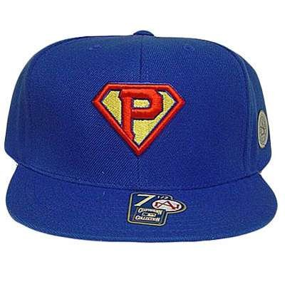 Mlb Pittsburgh Pirates Fitted 7 Flat Superman Hat Cap