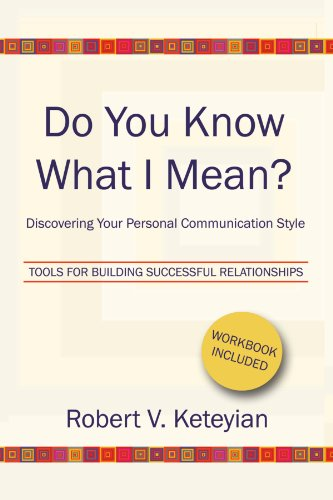 Do You Know What I Mean?--Discovering Your Personal...
