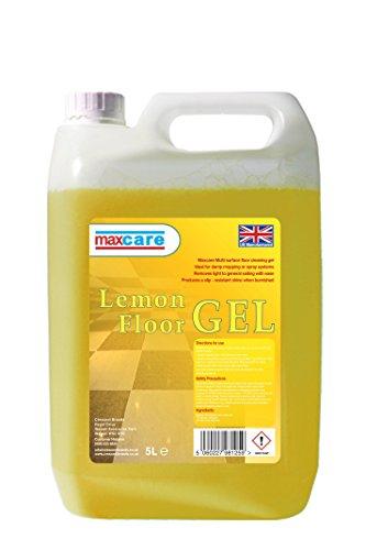 maxcare-lemon-floor-gel-multi-surface-cleaner-with-slip-resistant-shine-for-hard-floors-5-litre