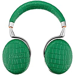 Parrot ZIK 3 by Philippe Starck Bluetooth On-Ear-Kopfhörer Smaragd Croco grün