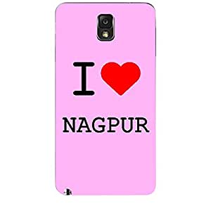 Skin4gadgets I love Nagpur Colour - Light Pink Phone Skin for SAMSUNG GALAXY NOTE 3