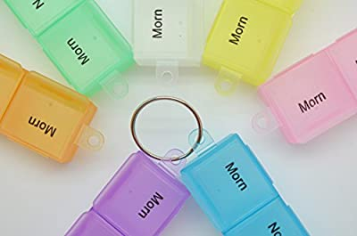 Plastic Pills Dispenser Boxes with Plastic Tweezers