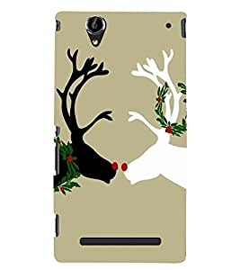 Sony Xperia T2 Ultra MULTICOLOR PRINTED BACK COVER FROM GADGET LOOKS