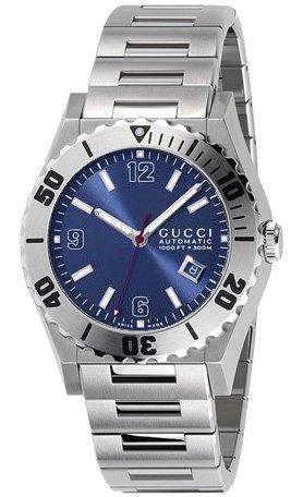 GUCCI Men's YA115219 115 Collection Pantheon Automatic Watch