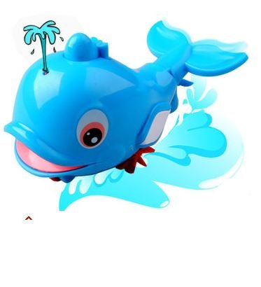 Spray Dolphins Bath Toy