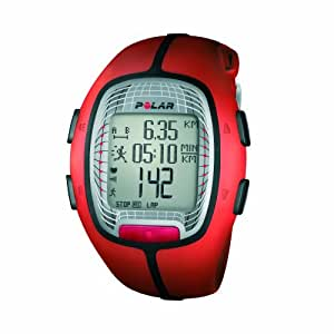 Polar RS300X SD Heart Rate Monitor Watch with S1 Foot Pod (Orange) [Sports] (japan import)