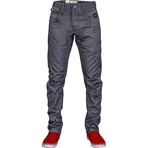 Crosshatch -  Jeans  - tapered - Uomo Charcoal W32 / L32
